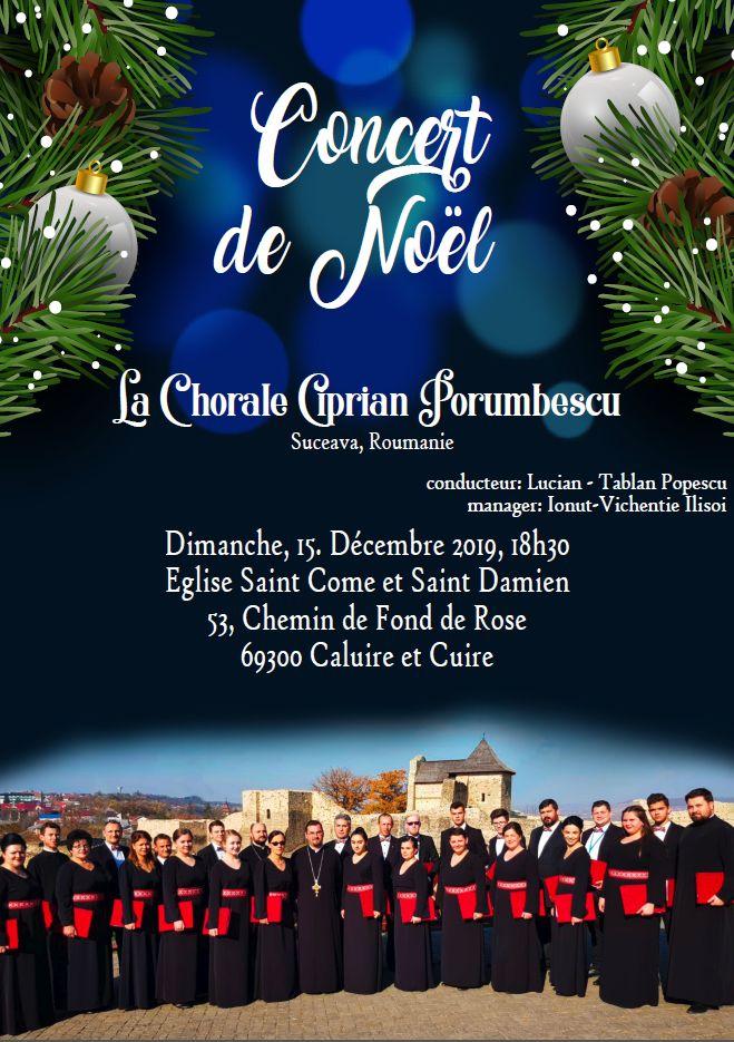 Concert Chorale Ciprian Porumbescu